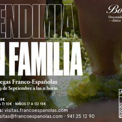 Vendimia en familia en Bodegas Franco Españolas