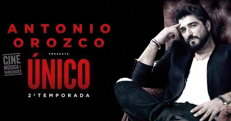 Antonio Orozco gira «Único» en Sevilla en el Cartuja Center CITE