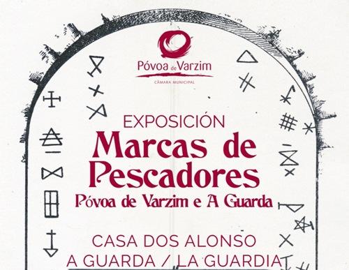 Marcas dos Pescadores de Póvoa e da Guarda, exposición en A Guarda