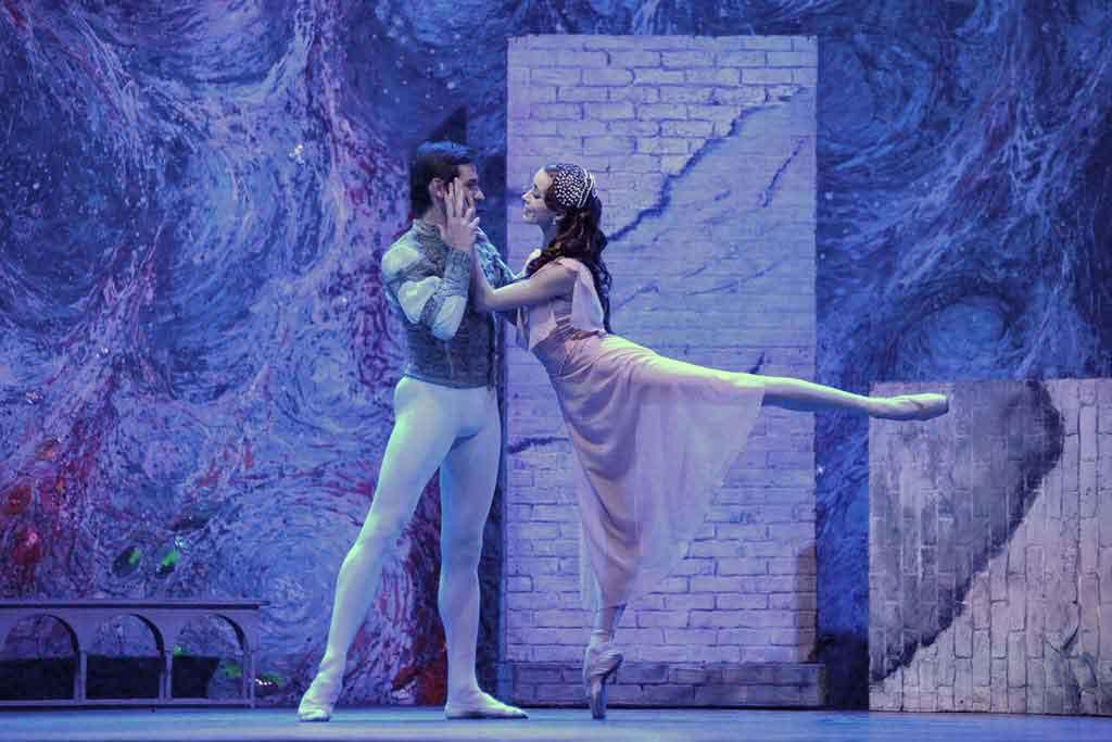 Romeo y Julieta, del Ballet Imperial Ruso, en el Teatro Cervantes de Málaga