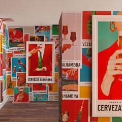 Cervezas Alhambra transformó a Granada en una gran exposición de Arte