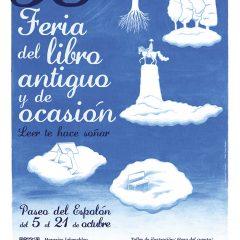 38 Feria del libro antiguo y de ocasión; Leer te hace soñar