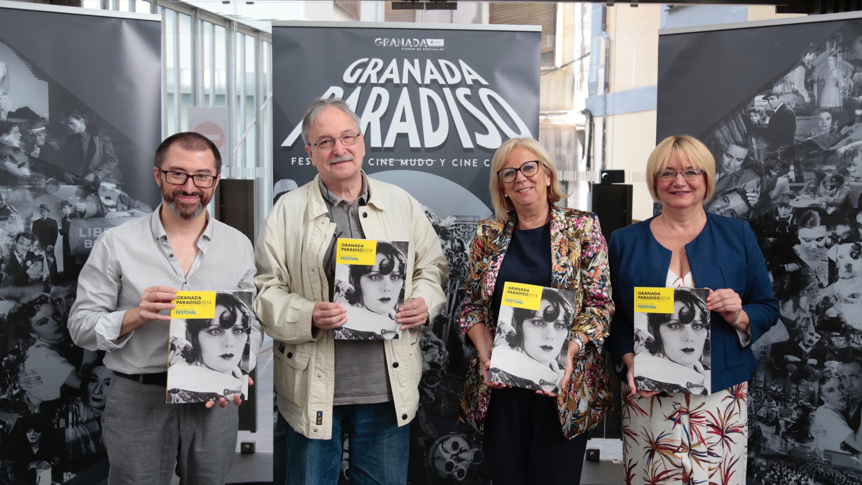 La programación del Festival Granada Paradiso 2018.