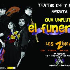 'El funeral', de Producciones Ché y Moche, en la XVIII Muestra de Teatro Ciudad de Pinos Puente