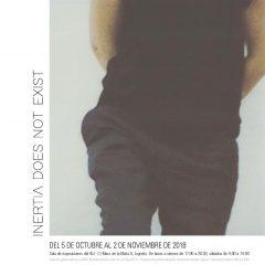 Exposición Inertia Does Not Exist de Blanca Ortiga