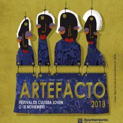 Artefacto 2018, Festival de Cultura Joven