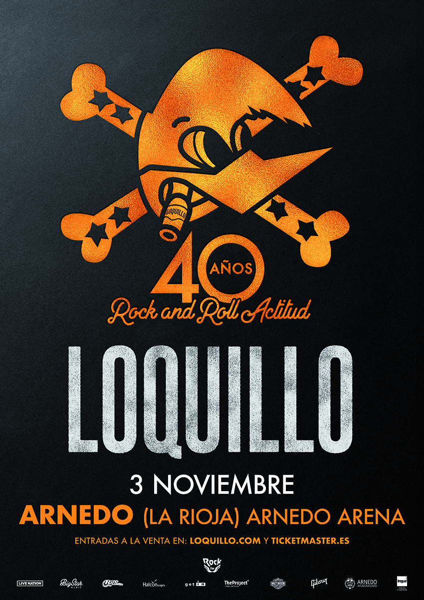 Loquillo, Rock and Roll Actitud. 40 años