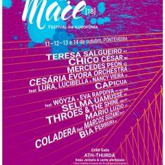 Cantos na Maré, festival internacional de lusofonía en Pontevedra