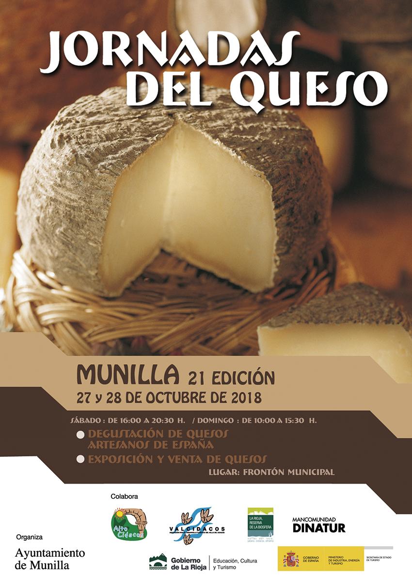 XXI Jornadas del queso artesano en Munilla