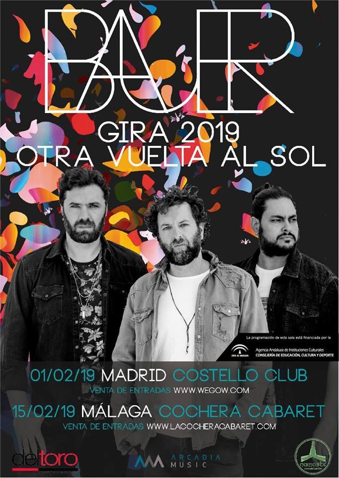 Bauer presenta Otra vuelta al sol en Málaga
