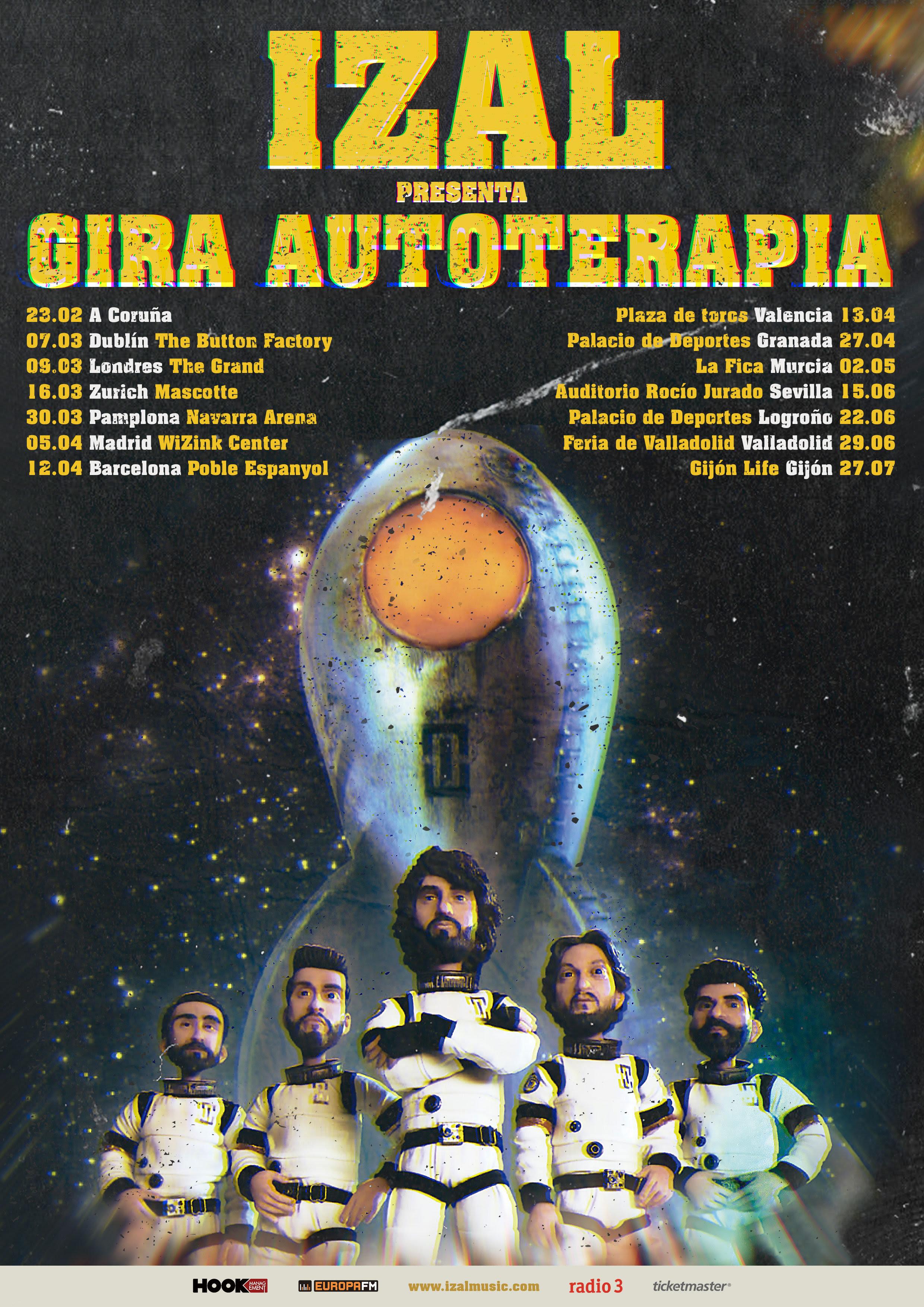 IZAL en concierto en Murcia con su 'Gira Autoterapia'