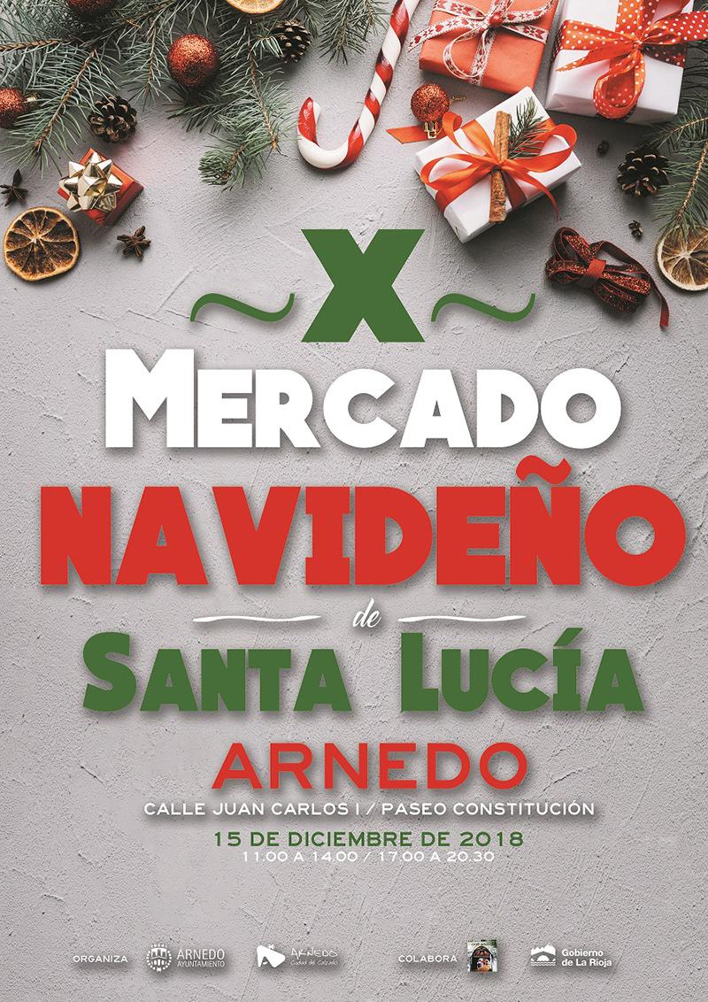 X Mercado navideño de Santa Lucía y Hogueras de Santa Lucía en Arnedo