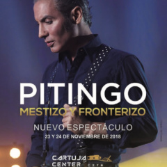 Pitingo lleva 'Mestizo y fronterizo' a Cartuja Center CITE de Sevilla a finales de noviembre