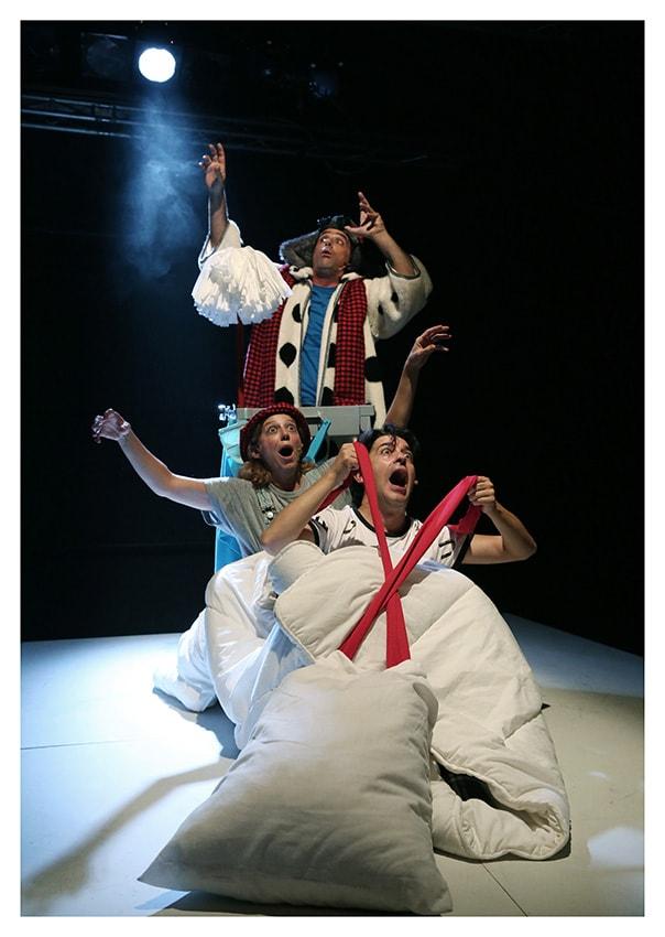El Tambor de Cora en el Ciclo de Teatro Infantil del Echegaray