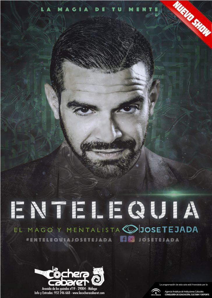Entelequia con José Tejada en La cochera Cabaret