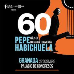 Pepe Habichuela celebra sus 60 años de carrera en un concierto acompañado de grandes artistas del flamenco en Granada