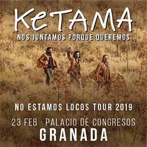 Ketama hace parada en el Palacio de Congresos de Granada con su gira No estamos locos