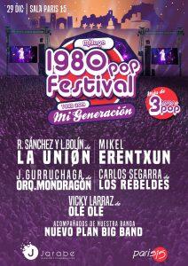 La Unión + Mikel Erentxun + Javier Gurruchaga + Vicky Larraz + Carlos Segarra nos llevan a los 80 en París 15