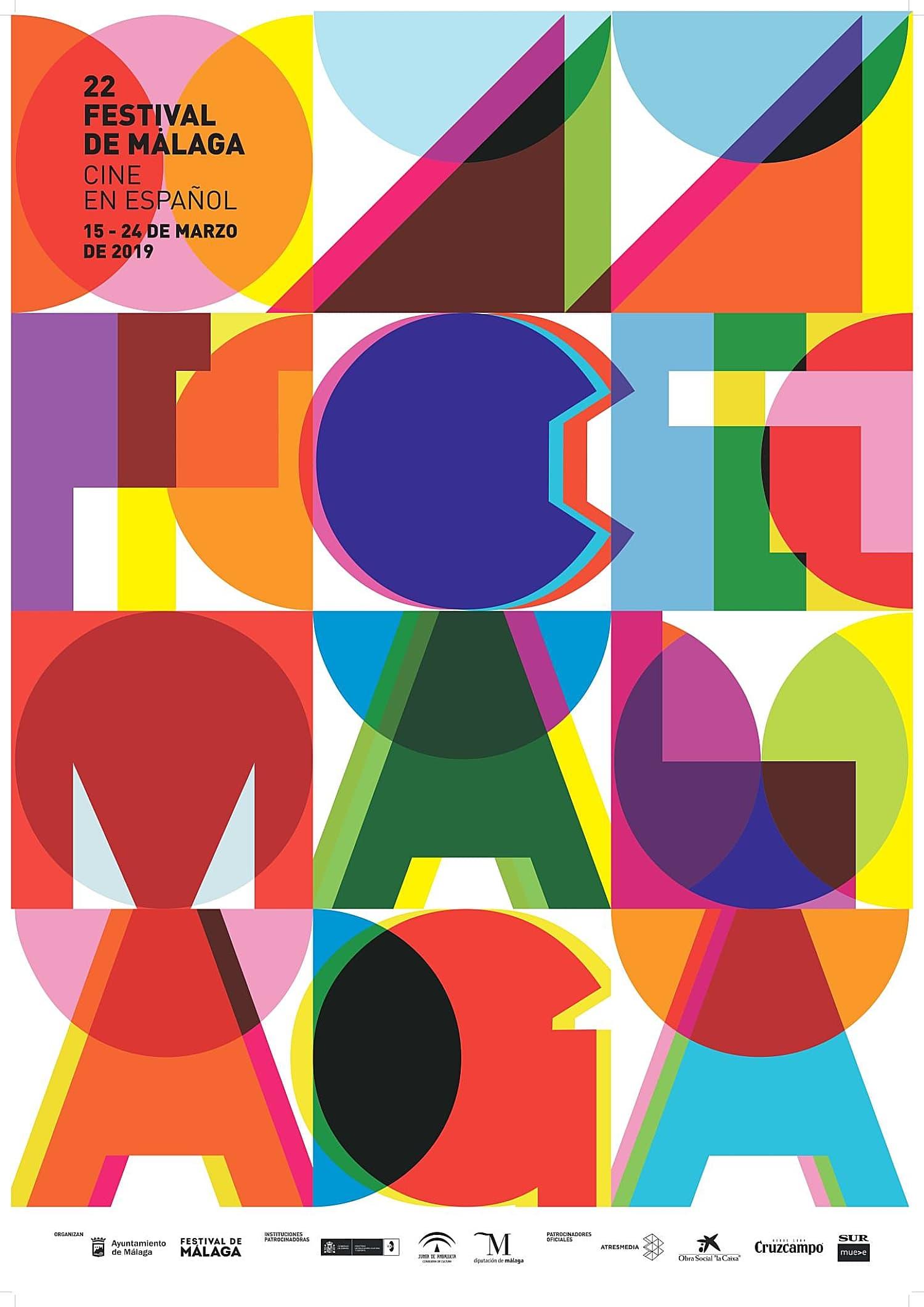 Ya hay cartel para la 22 edición del Festival de cine de Málaga