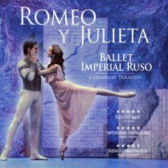 Romeo y Julieta, con el Ballet Imperial Ruso, en diciembre en Cartuja Center CITE de Sevilla