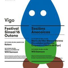 Festival Sinsal Outono, ciclo de conciertos en Vigo