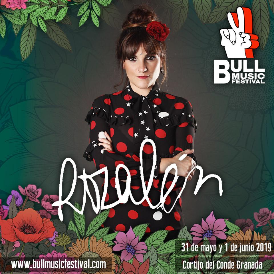 Rozalén y Beret, primeros confirmados del Festival Bull Music de Granada
