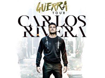 Carlos Rivera llega a Málaga con Guerra Tour