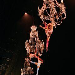 Corteo del Cirque du Soleil en el Palacio de Deportes Granada en 2020