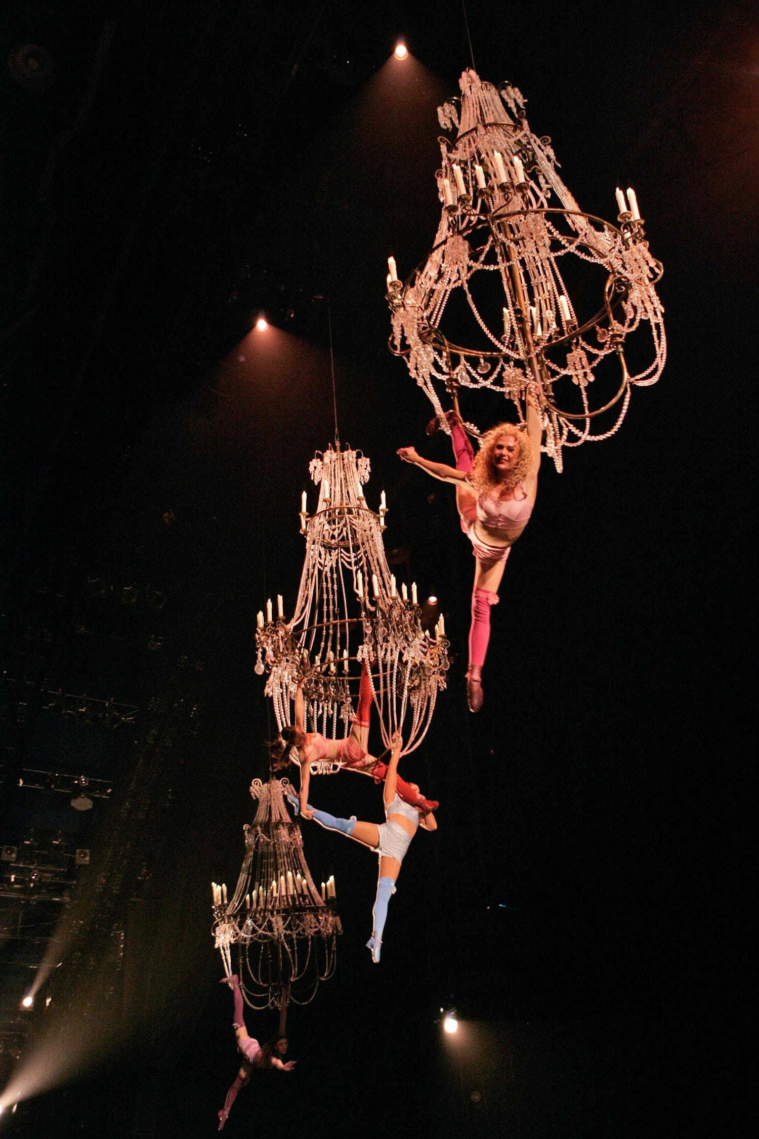 Corteo del Cirque du Soleil en el Palacio de Deportes Granada
