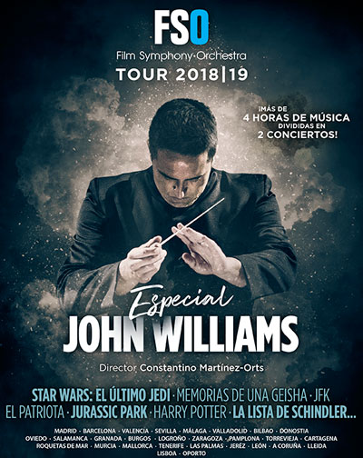 La Film Symphony Orchestra llega a Málaga con su homenaje a John Williams