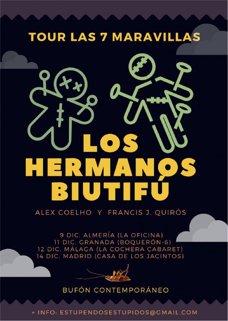 Los Hermanos Biutifú en La Cochera Cabaret