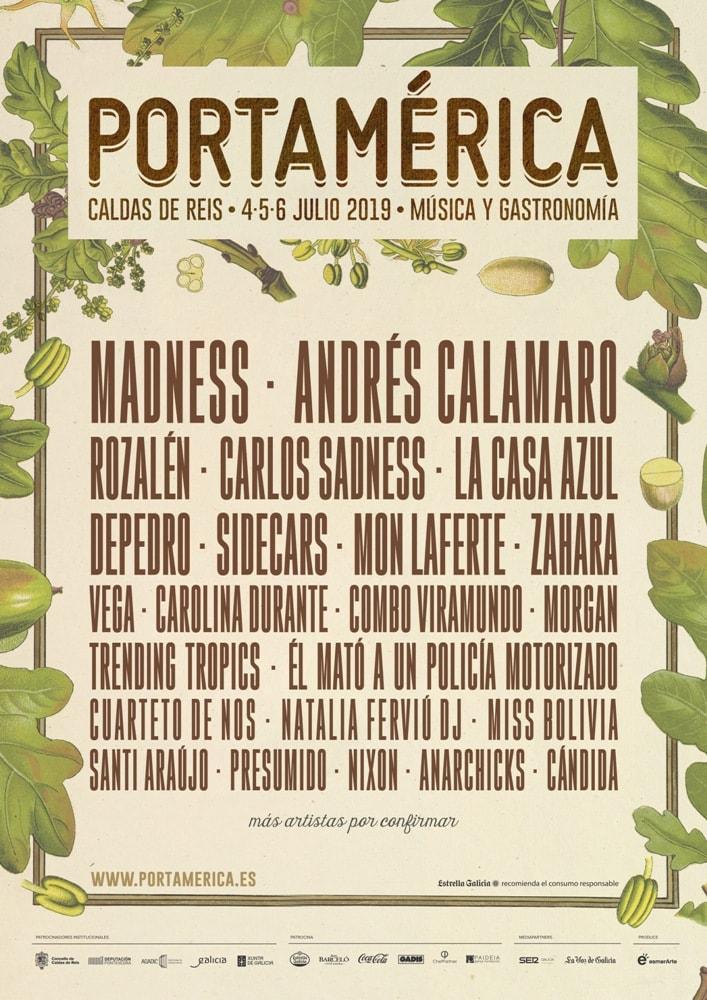 El festival Portamérica confirma a Madness, Andrés Calamaro, Rozalén, entre otros