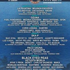 Weekend Beach Festival 2019 Torre del Mar Málaga