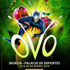 OVO de Cirque du Soleil llega a Murcia en 2019