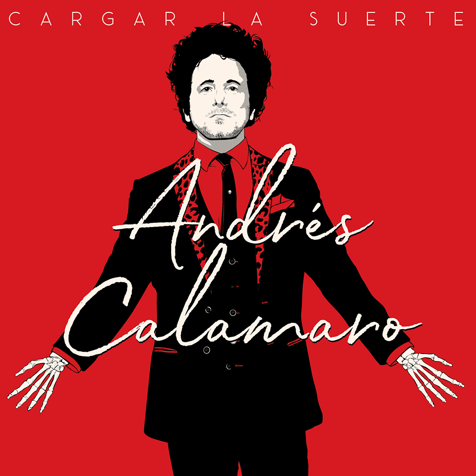 "Andrés Calamaro llega a Sevilla con ""Cargar la suerte"""