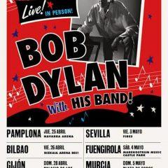 Bob Dylan en Fuengirola con la gira Live in Person