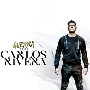 Carlos Rivera y su Guerra Tour llegan a Sevilla