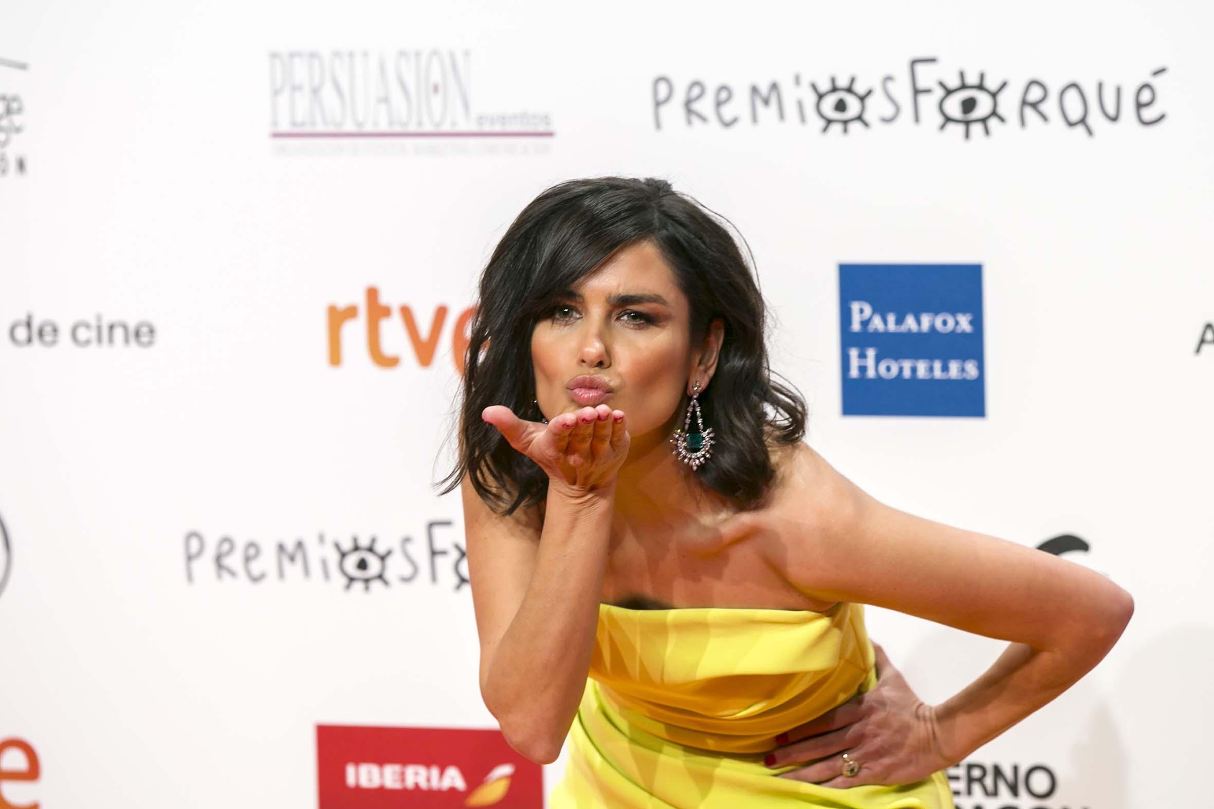 Elena Sanchez Presentadora Premios Forqué. Ganadores Premios Forqué 2019