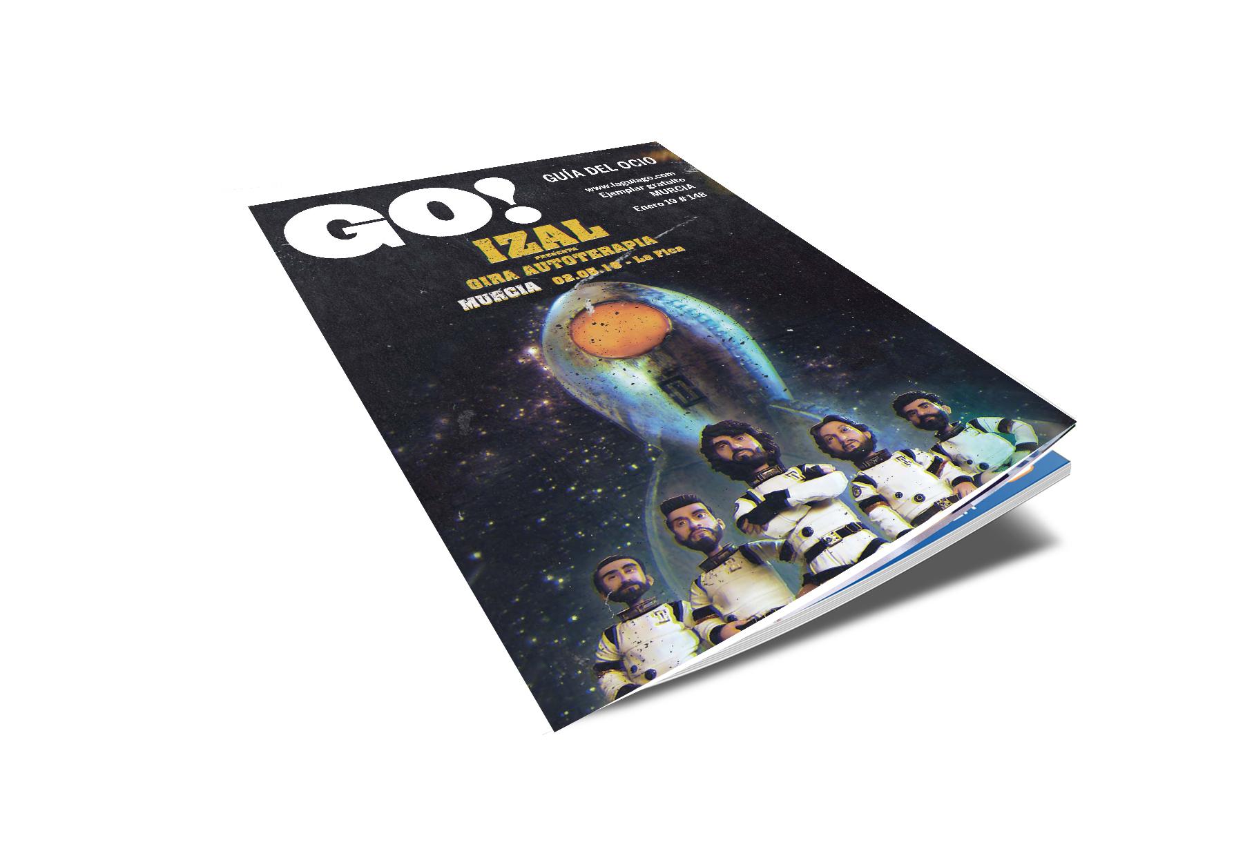 ¡Aquí puedes leer online la Guía del Ocio GO ENERO 2019!