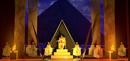 La ópera Aida en el Teatro Cervantes