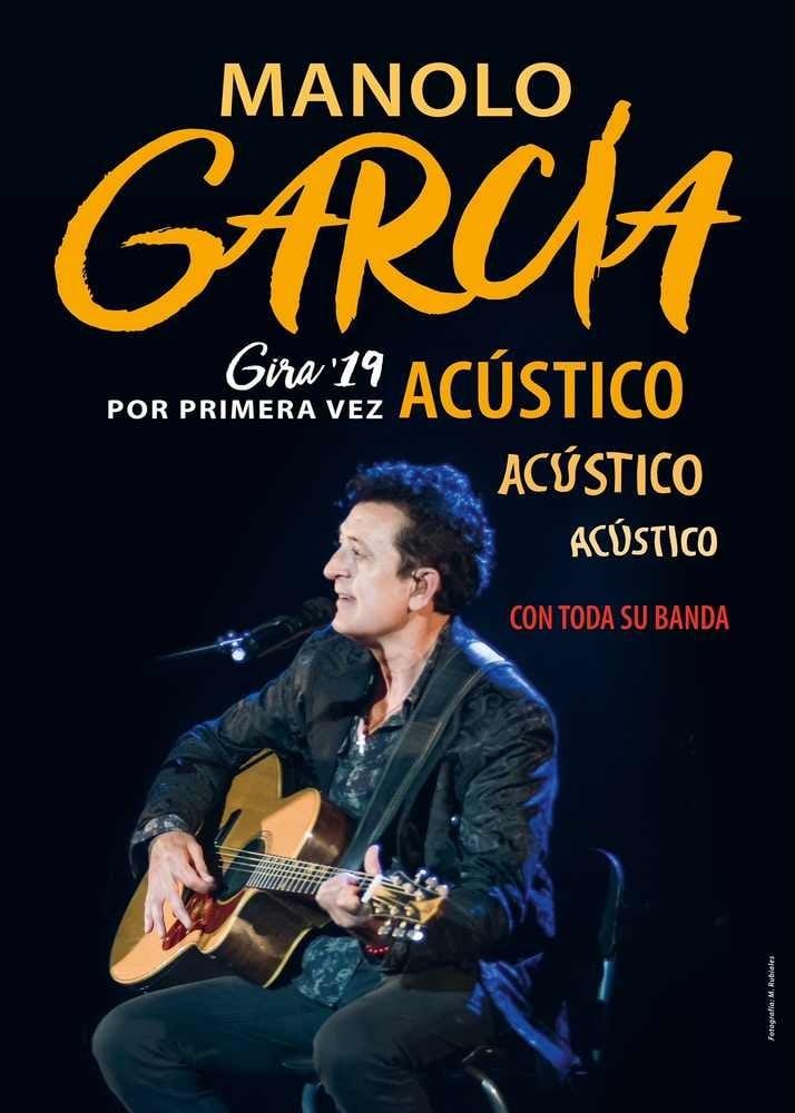 Manolo García y su primera gira acústica en Torremolinos