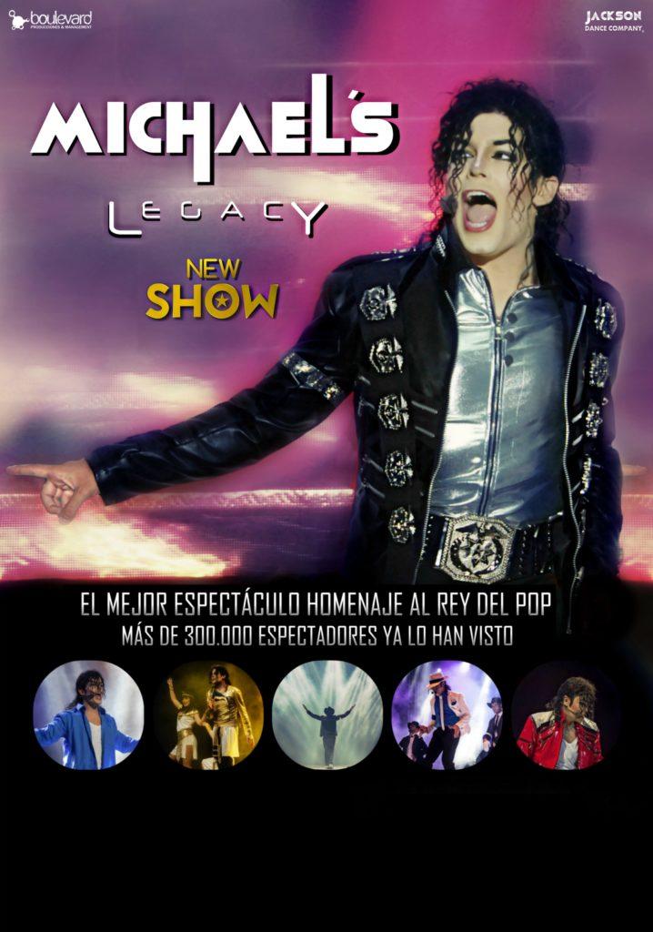 Michael´s Legacy Tour 2019 rinde tributo al rey del pop en Sevilla