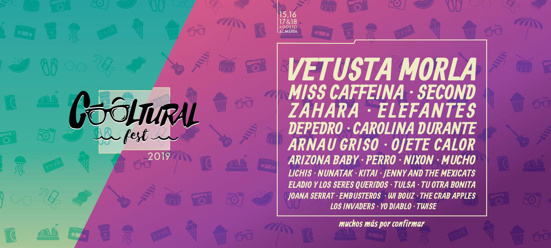 Nuevas confirmaciones Cooltural Fest añade ocho nuevos nombres