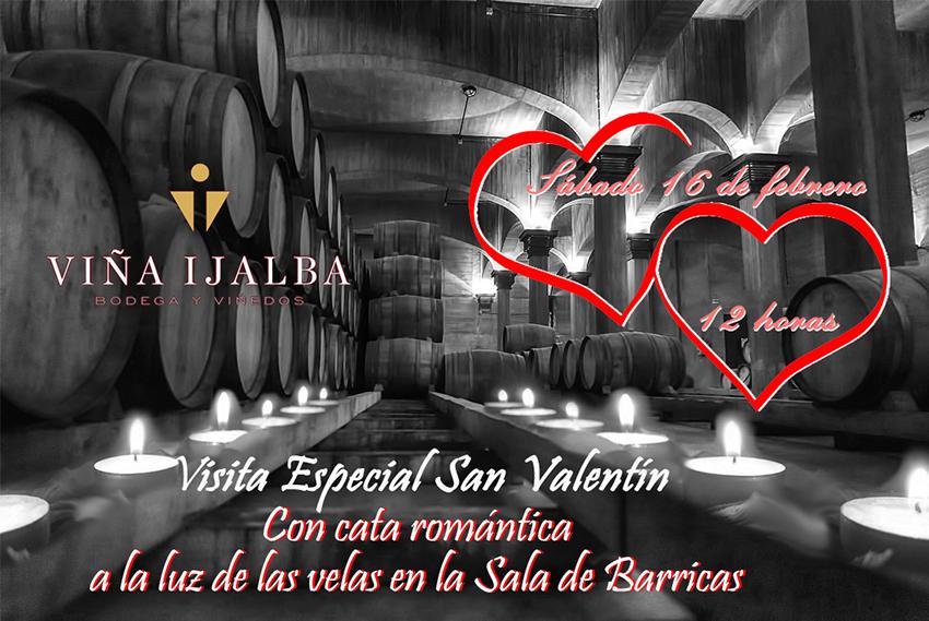 Celebra San Valentín en Bodegas Viña Ijalba