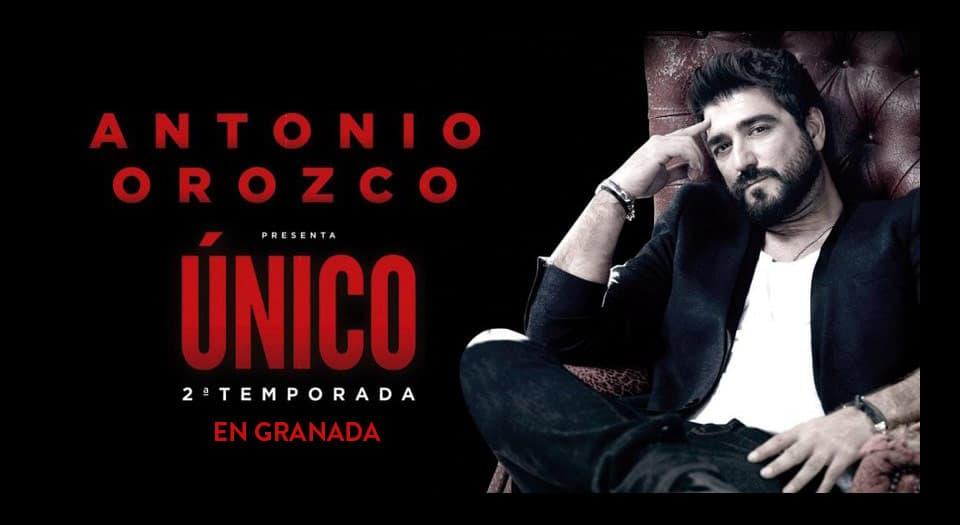 Antonio Orozco presenta Único en Granada