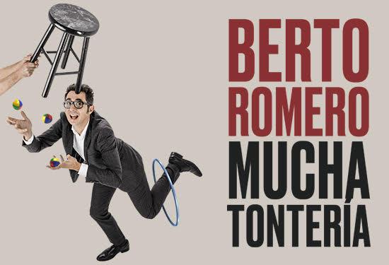 Berto Romero presenta 'mucha tontería'