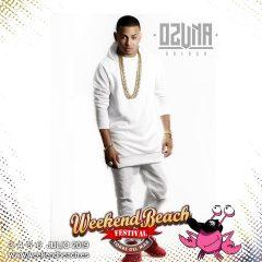 Weekend Beach Festival anuncia en Fitur al artista latino OZUNA