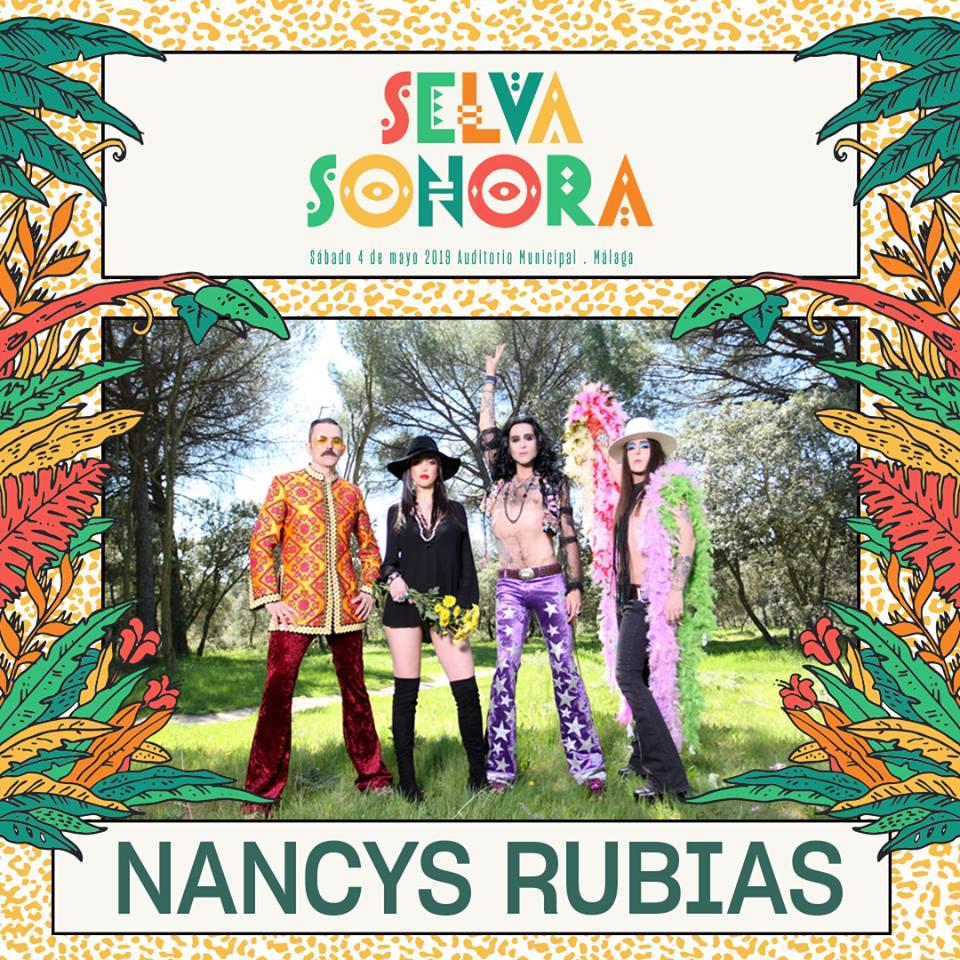 Selva Sonora 2019 en Málaga completa su cartel con Nancys Rubias + Reclycled J + Arnau Griso + Bely Besarte y más!!