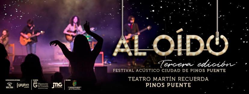 Al Oído, Festival de música Acústico 2019, Pinos Puente Granada
