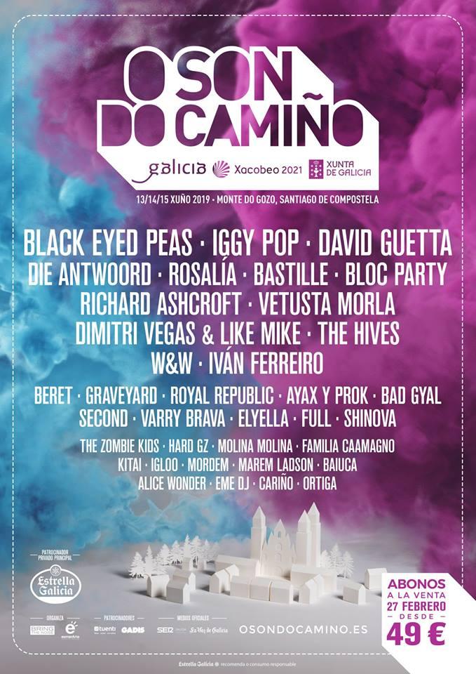 Nueva edición del festival O Son do Camiño!!